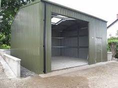 Image result for steel shed
