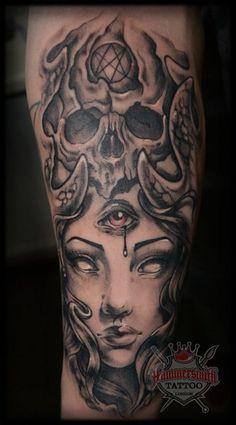 Photo #1068 hammersmith tattoo london Zanda - Zanda / Tattoo Artist / Guest Artist Tattoos - London tattoo shop - Tattoo artists London - Hammersmith Tattoo Shop - London Studio