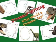 Dinosaur Writing - Speech Bubbles - What Would a Dinosaur Say? - Dinosaur Writing – Speech Bubbles – What Would a Dinosaur Say? Eyfs Activities, Morning Activities, Dinosaur Activities, Writing Activities, Vocabulary Activities, Dinosaur Projects, Dinosaur Crafts, Writing Area, Kids Writing