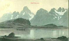 Kunstnerkort Thorolf Holmboe Raftsundet 1910/20-tallet