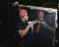 Photographies en couleur de la seconde guerre mondiale aux USA | Mode Bulb