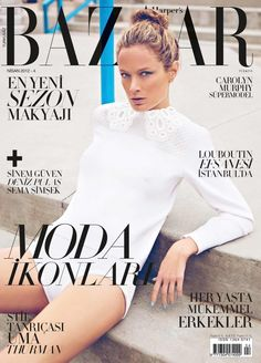 Carolyn Murphy, Harper's Bazaar Magazine [Turkey] (April 2012)