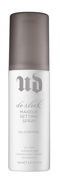 Urban Decay De-Slick Makeup Setting Spray, £20 feelunique.com