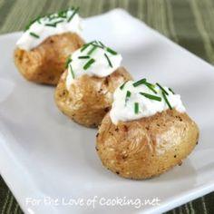 Mini Baked Potatoes