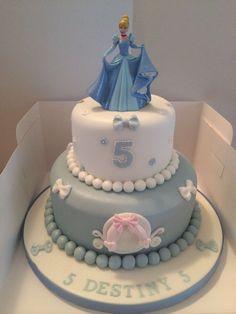 Bolo Barbie, Barbie Cake, Cinderella Birthday, Cinderella Cakes, Bolo Fack, Disneyland Birthday, Cupcake Cakes, Owl Cakes, Cupcakes