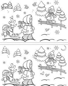 Christmas Crafts For Kids, Christmas Colors, Christmas Drawing, Preschool Worksheets, Drawing For Kids, Pre School, Kindergarten, Teaching, Drawings