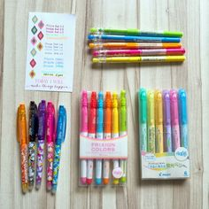Happiness is Scrappy: Planners   Confession of A Stationery Addict (Pilot Frixion)