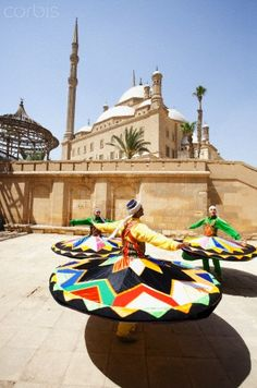 Sufi Dancers (Twirling Dervishes) Cairo, Egypt