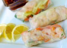 fresh shrimp & veggie spring rolls | ChinDeep