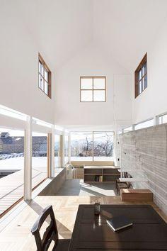 life1nmotion: House in Ishikiri by Tato Architects