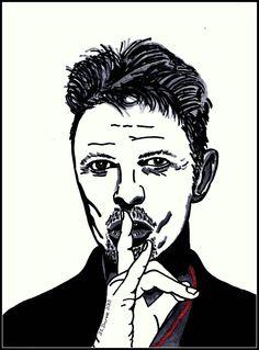 David Bowie by DiMeStOreArt.deviantart.com on @deviantART