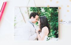 Modern and fun full bleed white text thank you cards with gold confetti from the Brklyn View Collection by Sincerely, Jackie and Brklyn View Photography