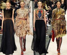 #PRADA #GIVENCHY #GUCCI #CHANEL FASHION TRENDS & ISPIRATIONS FALL-WINTER 2014- 15 #RUNWAY by @laurelconnie12