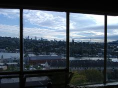 view from dorm by Ian Ruotsala, via Flickr  We had a left-over window in our house from the construction of this dorm.