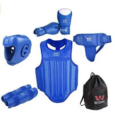 KYK Boxing Gloves Boxing Gloves Combination Sanda Fighting Martial Arts Training Equipment 5 Sets Gloves Protective Vest Helmet Protective C Leg Sets Protective Equipment Bag. Taekwondo Equipment, Martial Arts Training Equipment, Mma Equipment, Mma Gloves, Boxing Gloves, Boxing Punches, Mma Training, Mma Boxing, Black Gloves
