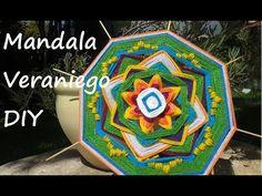 Mandala de verano Parte 2 DIY | Summer mandala Part 2 - YouTube