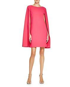 Trina Turk Gizela Cape Style Shift Dress   Bloomingdale's