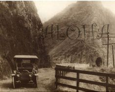 Old Hawaii Pictures Pali