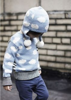 My poor kid... I would make him wear that. Yes, him. Merely because it's funny and strangely adorable.