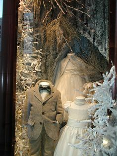 Another Ralph Lauren window, this beautiful one of children's clothes!