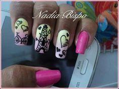 Unha diferente de Nadia Bispo. Different nail by Nadia Bispo. Uña diferente por Nadia Bispo. Unghie different di Nadia Bispo.