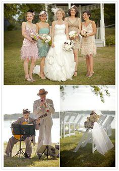 great gatsby wedding