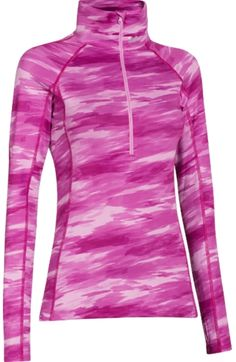 . More Armour WomenS, Long Sleeve Shirts, Athletic Outfit, Under Armour Women Under Armour Womens ColdGear Cozy Printed Half Zip Long Sleeve Shirt | DICKS Sporting ❤Goods
