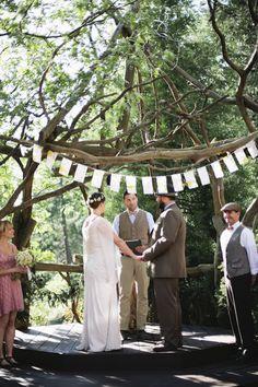 DIY Woodsy Mountain Wedding