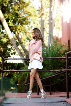 Mini & High-heels Street Snap — Nice! Cute!!