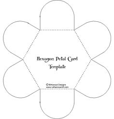 Hexagon shaped iris box (TEMPLATE).