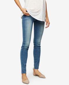 JOE'S JEANS Joe'S Jeans Maternity Medium Wash Skinny Jeans. #joesjeans #cloth # jeans