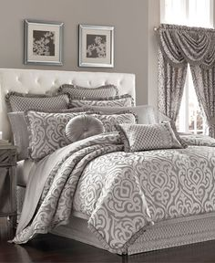 http://www.muupe.com/category/Queen-Comforter-Set/ J Queen New York Babylon Queen Comforter Set