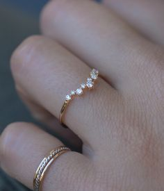 A perfect constellation of diamonds. Loveaudryrose.com