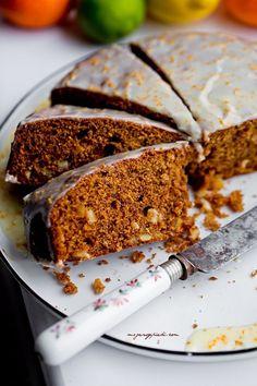 Gingerbread Recipes for Coffee Break Slovak Recipes, Polish Recipes, Polish Food, Spice Cake, Coffee Break, No Bake Desserts, No Bake Cake, Cake Cookies, Tiramisu