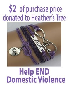 I bought mine :) Love, Faith, Hope Domestic Violence ModWrap – Purple Miss Mom, Semicolon Tattoo, Buy Boots, Cool Style, My Style, Faith In Love, Domestic Violence, Creative Crafts, Things To Buy