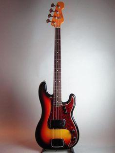 Fender USA PRECISION BASS 1966, I paid £80 from Jones and Crosslands Ringway Birmingham.