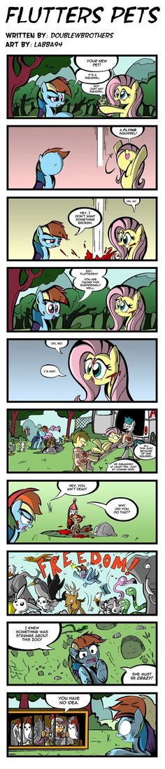 Fluttershy Bought a Zoo