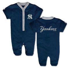 Yankees Fan Team Player Coverall #NY #Yankees #Baby #Infant #Coverall #Babyfans