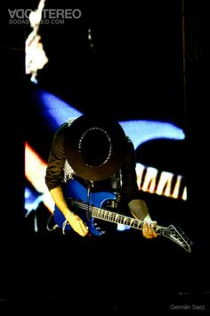 Gustavo Cerati on stage