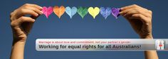 Equal rights. Sorry, did I miss a memo that said human rights were only available for some?