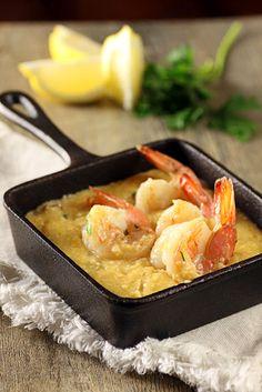 slow cook shrimp & grits