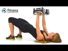 Upper Body Superset Workout with Fat Burning Cardio Intervals - Arm, Chest, Back & Shoulder Workout