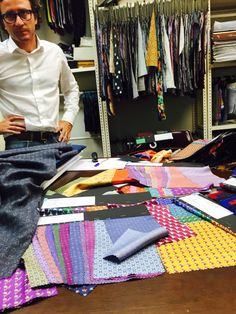 Behind the scenes: when Italy is in town! Lazyjackpress.com #new #designs #preppy #menswear #fashion #style #cheers