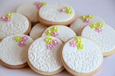 galletas redondas decoradas - Buscar con Google