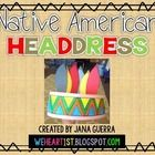 Cute and easy Thanksgiving craft for your students. I show a slide show of real Native American headdresses and explain their significance.   If you download and like this, please leave me some feedback and follow my store. All new products are 50% off for the first 24 hours, so you don't want to miss out! :) Thanks! {Jana}