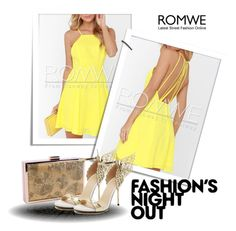 """""""romwe 9."""" by igor89 ❤ liked on Polyvore featuring Fashion's Night Out and romwe"""