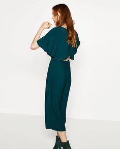 Image 1 of CROPPED LAYERED JUMPSUIT from Zara
