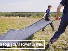 The FAST FOLD solar power systems by Renovagen can help address the need for self-sustaining essential power in the hours, days and weeks after a disaster. Car Starter, Solar Power System, Shop Ideas, Sun Lounger, Outdoor Decor, Chaise Longue, Solar Energy System