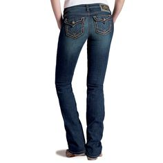 Ariat Women's Ruby Runaway Flap Boot Cut Jeans