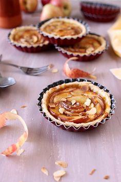 Tartelettes aux pommes et caramel | chefNini